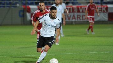 Pintér Norbert ősszel gólt szerzett a Kisvárda ellen